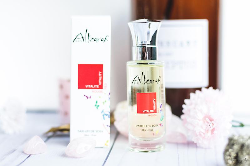 parfum soin rouge vitalite altearah