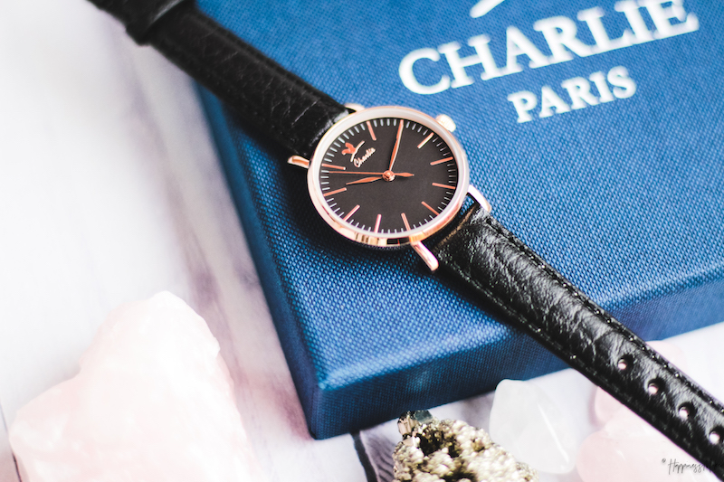 montre sully or rose charlie watch france
