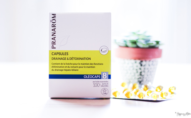 pranarom capsules drainage detox