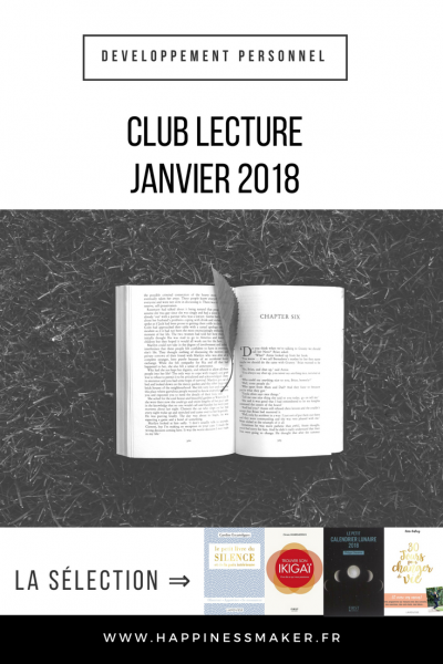 Club Lecture // Janvier : Ikigai et calendrier lunaire 2018
