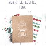 Kit classeur recettes Toga