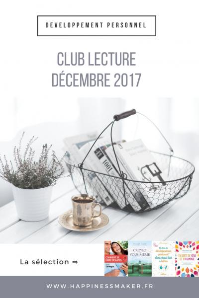 Club Lecture // Décembre 2017