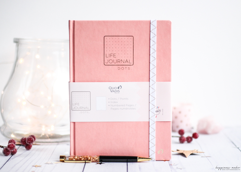 life journal quo vadis bullet pages dots pointillés nouveau
