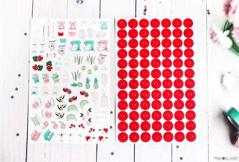 stickers kit recettes toga