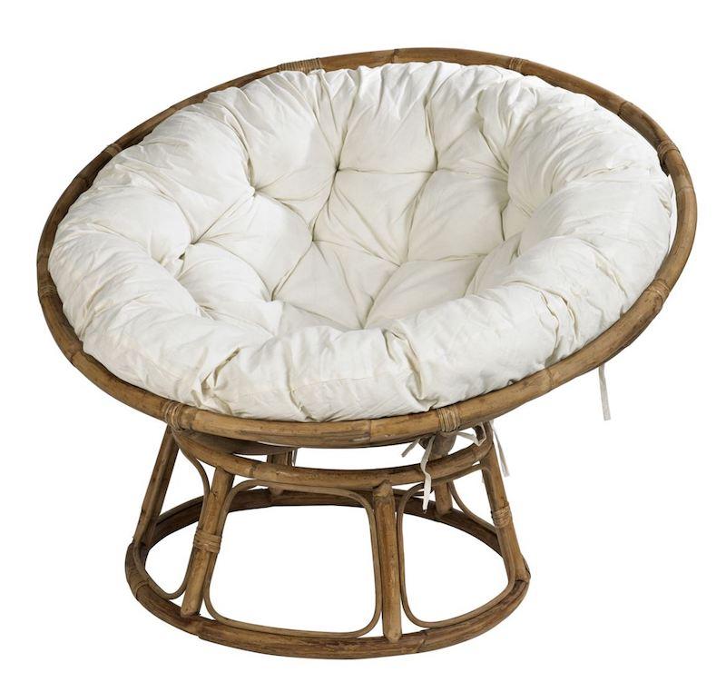 PAPASAN Chaise Lounge loveuse bois