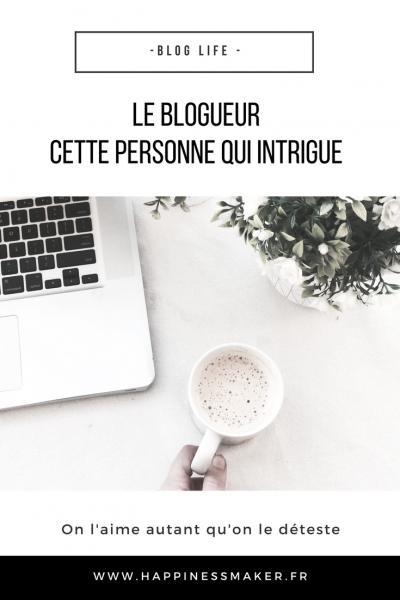 Blogueurs : Quand les apparences jouent contre nous
