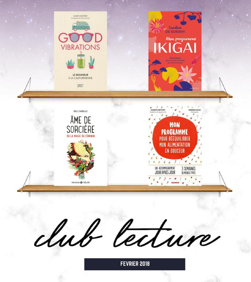 livres développement personnel 2018 ikigai ame de sorciere good vibration réequilibrage alimentaire