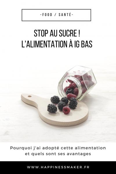 Stop au sucre ! Les avantages d'une alimentation à IG bas