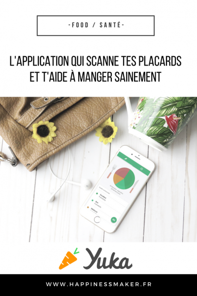 yuka application aide a manger sainement