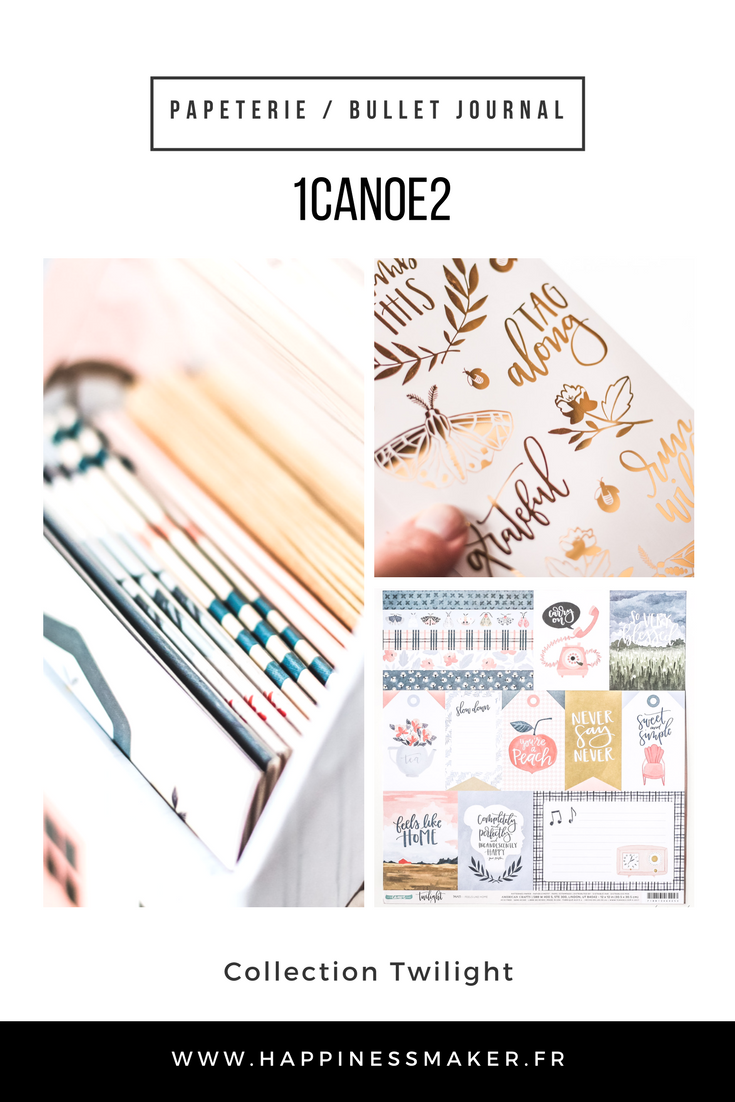 1canoe2 collection twilight jolie papeterie bullet journal