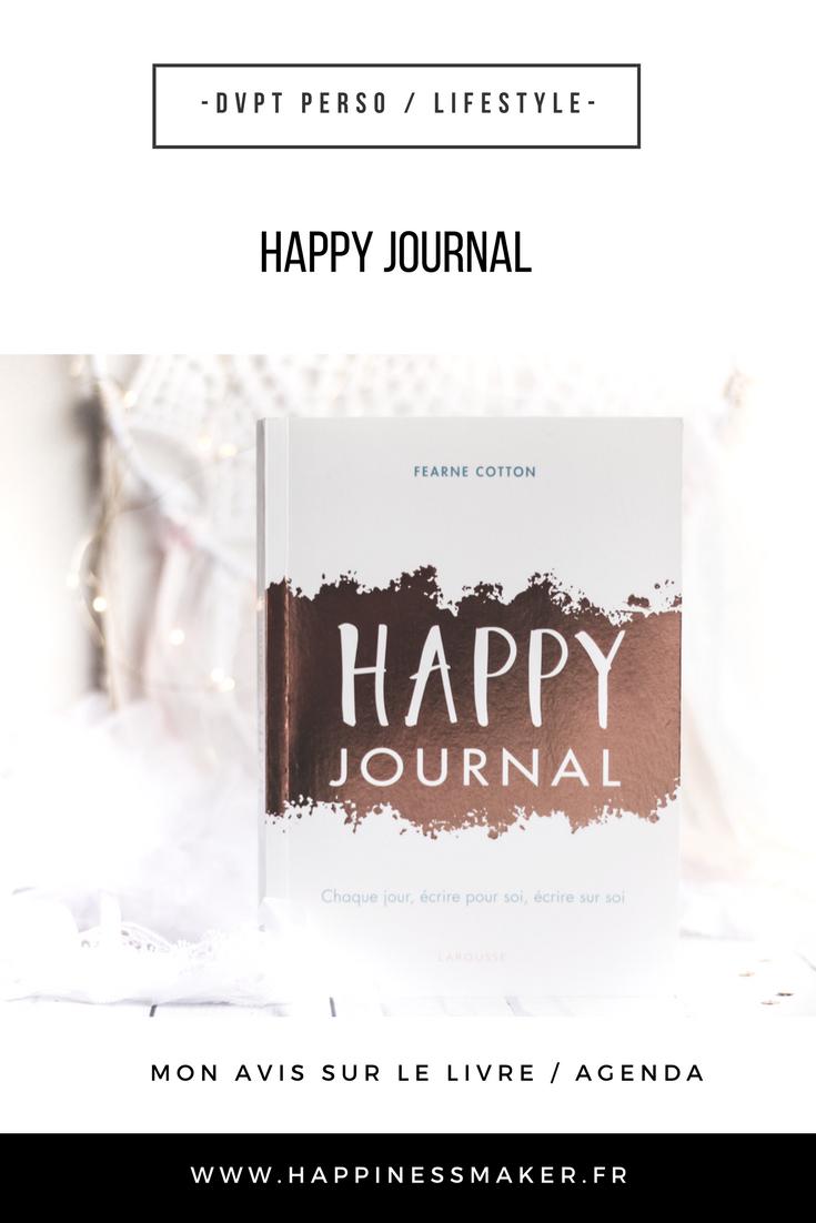 Happy Journal : L'agenda feel-good coloré à tester !
