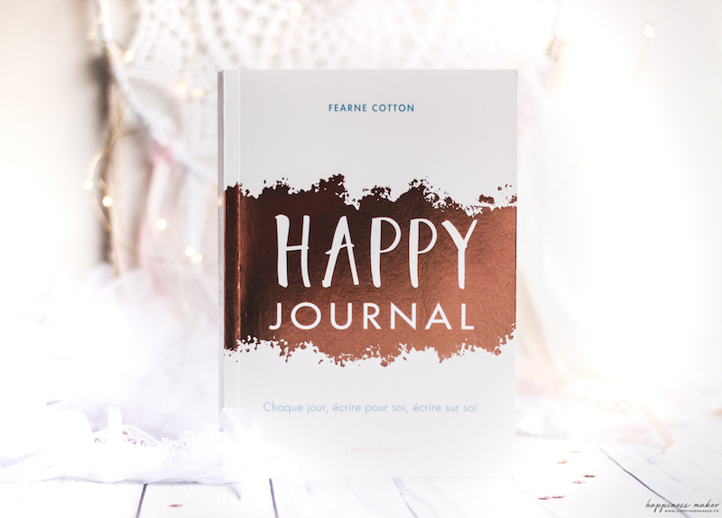happy journal fearne cotton livre avis