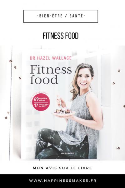 livre fitness food hiit alimentation saine avis