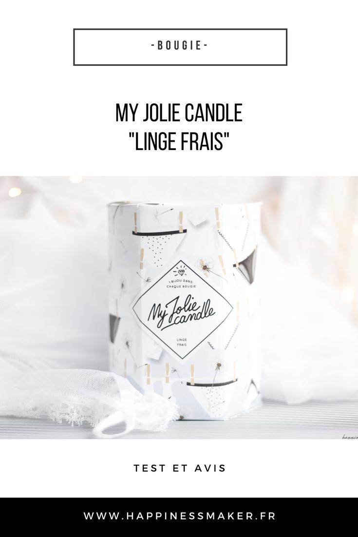 my joli candle linge frais avis