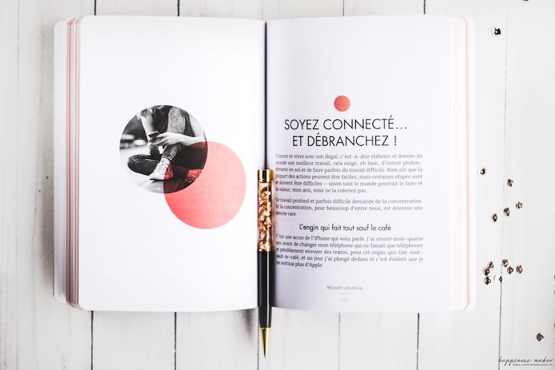trouver son ikigai livre photo interieur avis