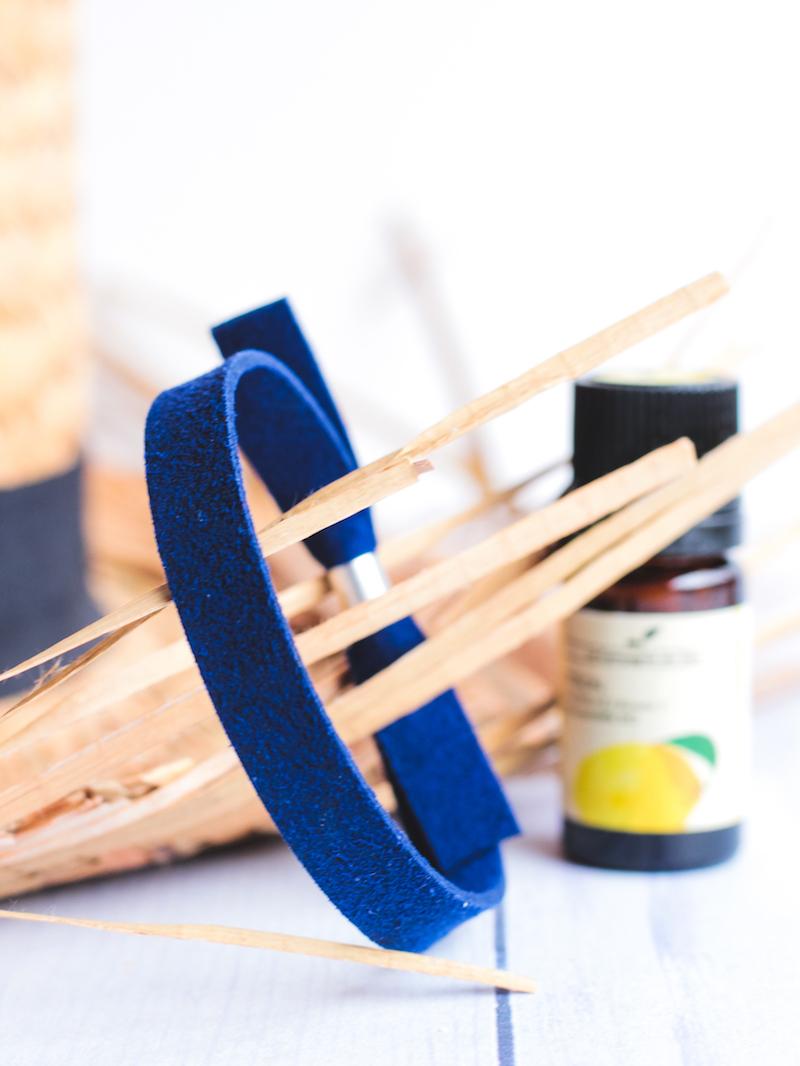 bracelet anti stress huiles essentielles