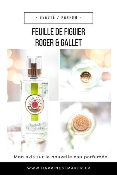 Feuille de figuier : L'eau parfumée fraîche et solaire de Roger&Gallet