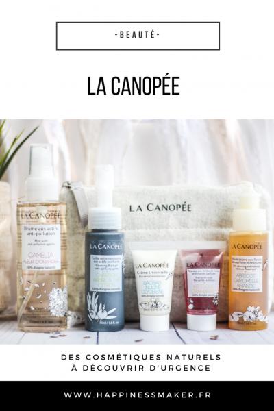 La Canopée : Des soins 100% naturels bons pour ma peau