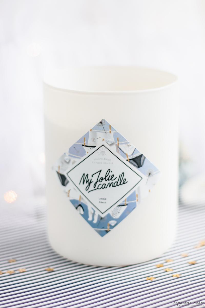 my jolie candle linge frais avis test