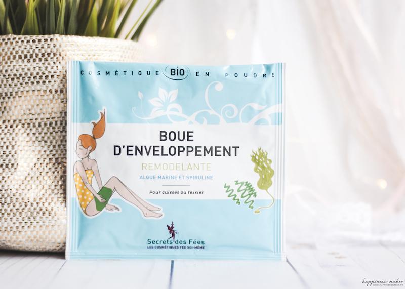 nuoo box beauté bio mars 2018 boue enveloppement