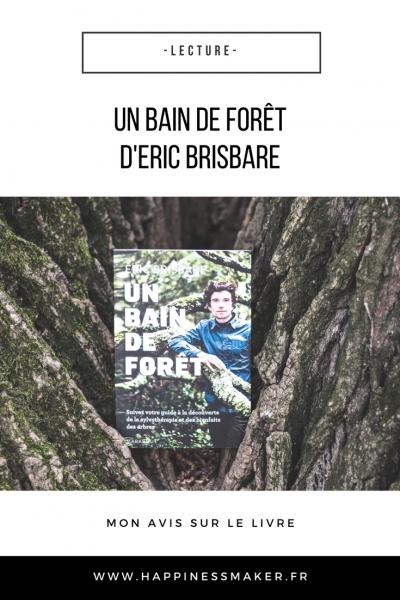 Un bain de forêt : Le livre apaisant et ressourçant d'Eric Brisbare