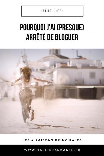 Blog Life // Les 4 raisons qui m'ont presque poussée à tout arrêter
