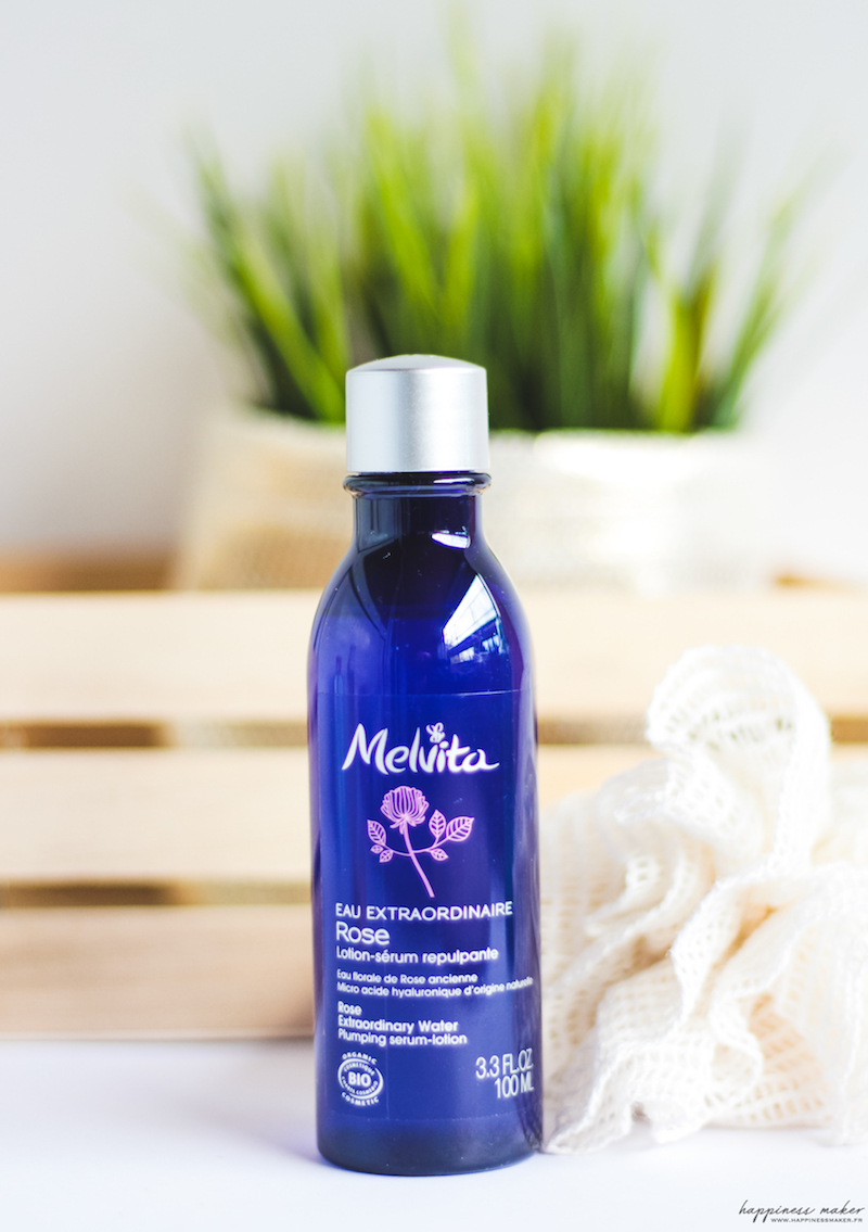 eau extraordinaire de rose de Melvita