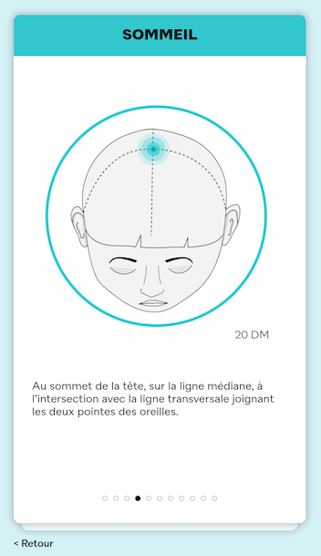 points acupression sommeil ylo