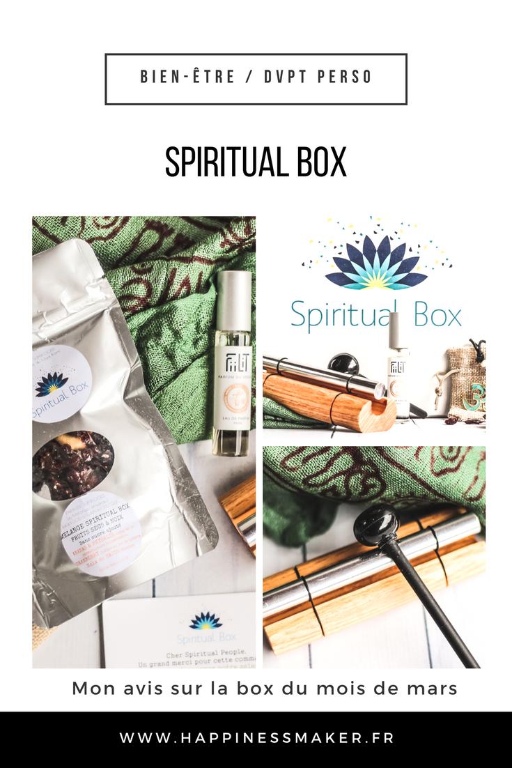 La spiritual box : Bien-être, découvertes et évasion