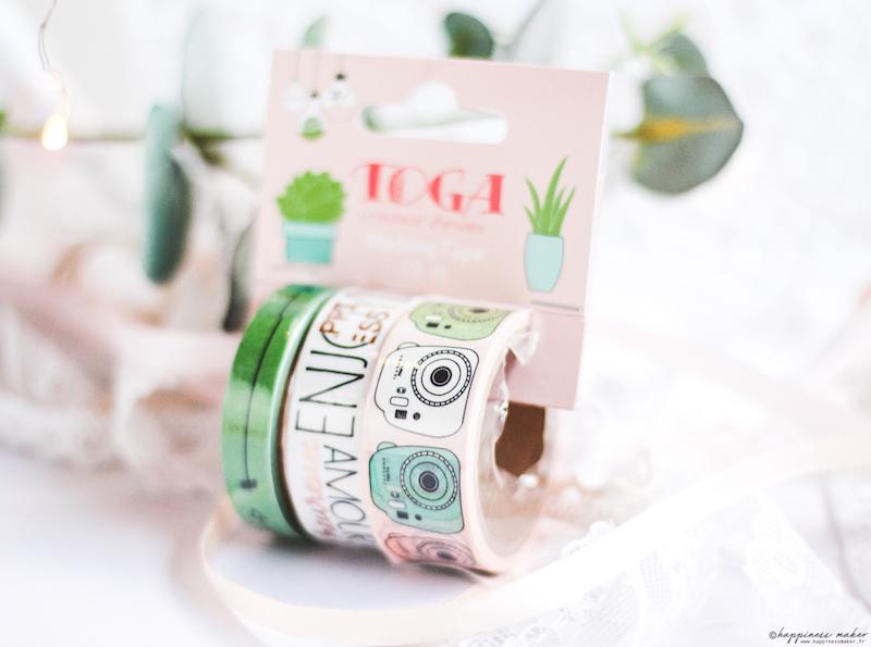 enjoy the little things jolie papeterie toga masking tape