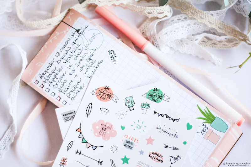 enjoy the little things jolie papeterie toga to do list