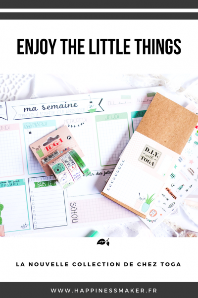 Enjoy The Little Things : La papeterie lifestyle by Toga !