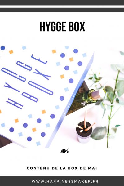 La HyggeBox de mai : Le rituel 100% bonheur !