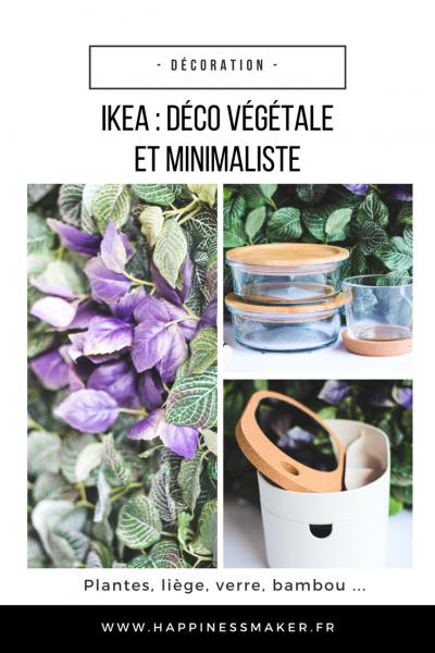 Ikea : Mur végétal et déco naturelle