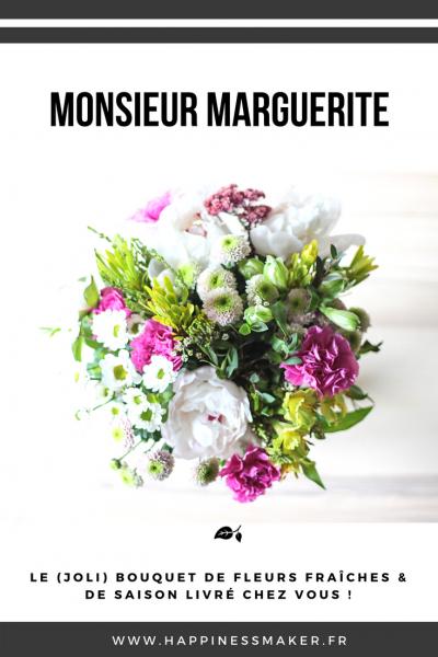 Monsieur Marguerite : La box fleurie qui émerveille  !