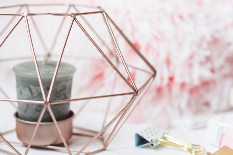 photo pour blog girly rose et doré