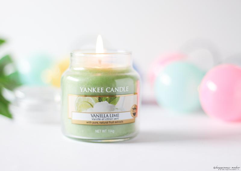 bougie parfumée vanilla lime yankee candle avis