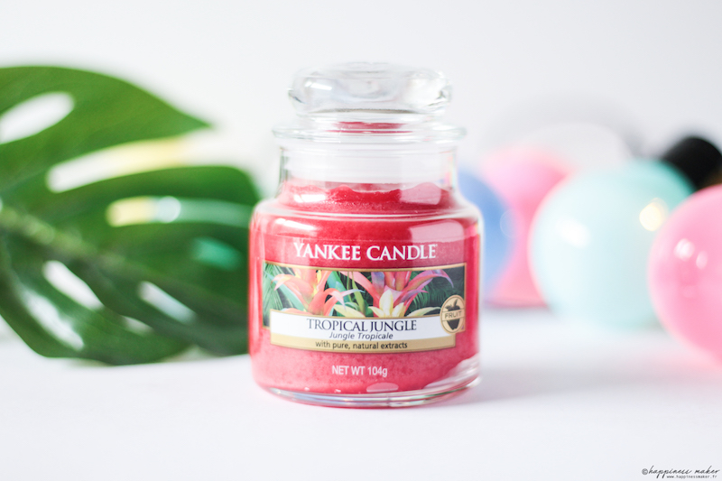 bougie parfumée yankee candle tropical jungle