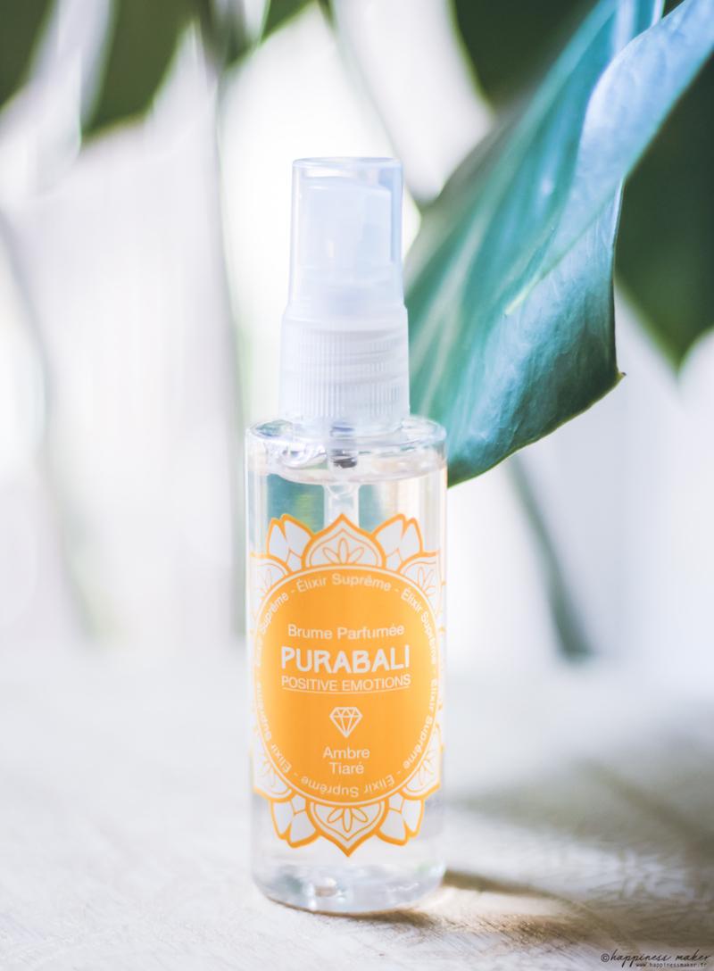 brume parfumée naturelle monoi purabali