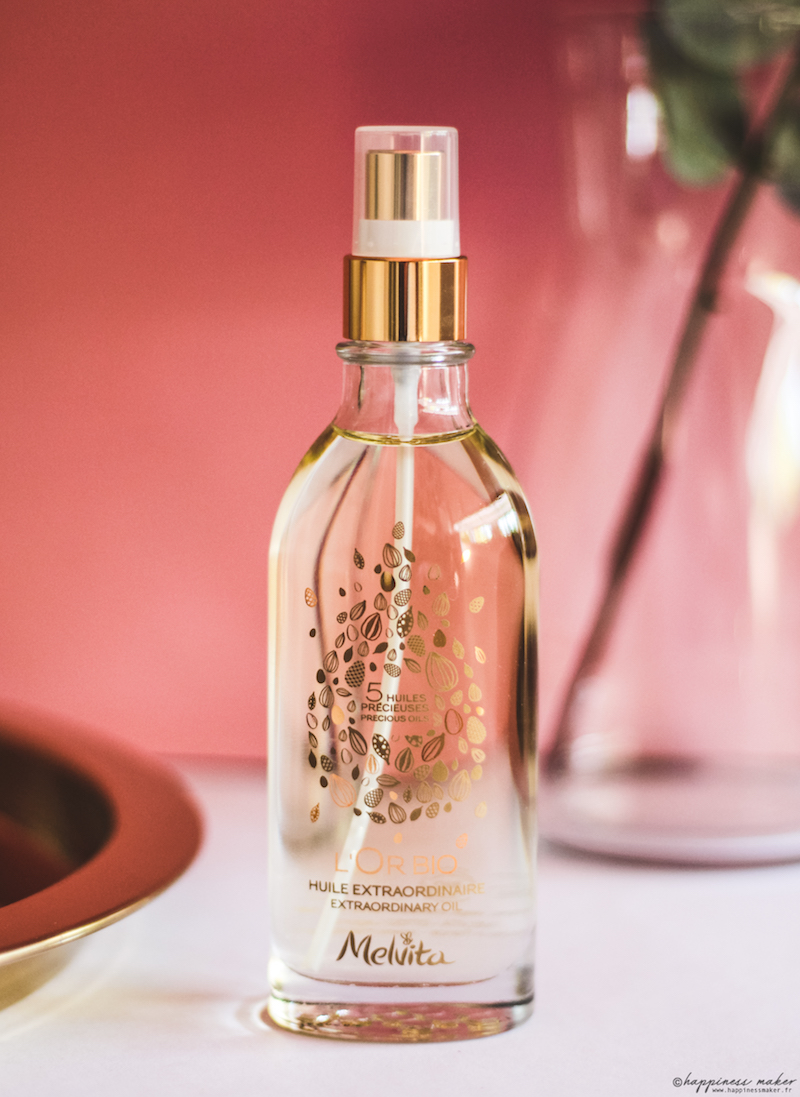huile extraordinaire l'or bio de melvita avis