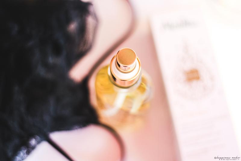 huile extraordinaire l'or bio melvita test
