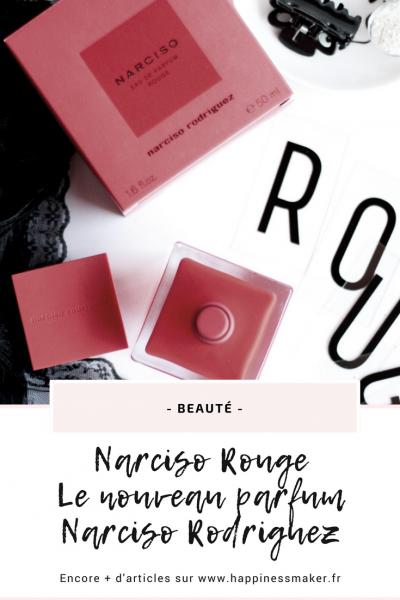 Narciso Rouge : Le parfum envoûtant de l'été 2018