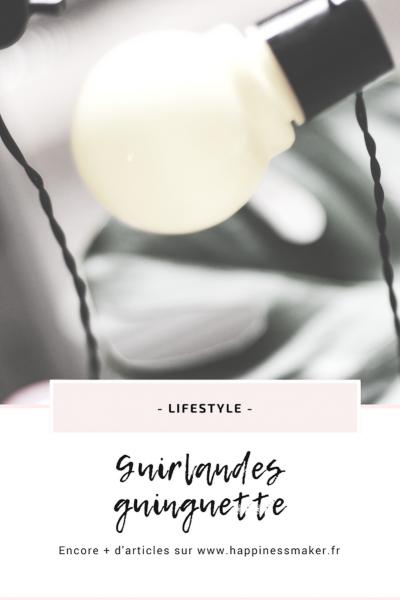 La guirlande guinguette : LA tendance déco de l'été 2018 !