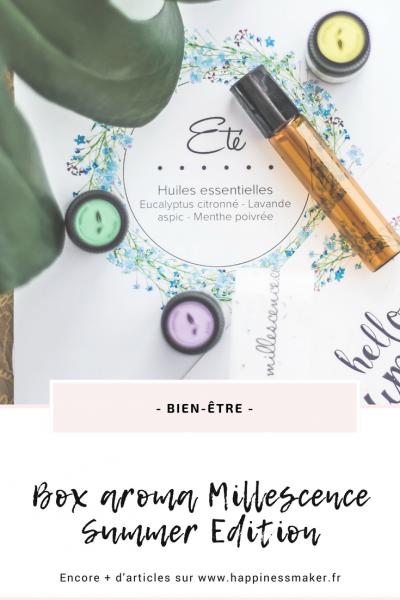 Box aroma Millescence : Les huiles essentielles de l'été !