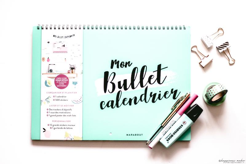 mon bullet calendrier marabout avis