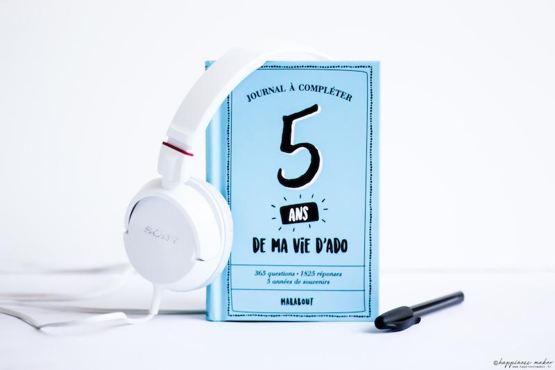 5 Ans De Ma Vie D Ado Le Journal Intime Fun Et Ludique Happiness Maker