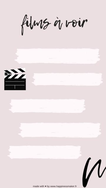 films a voir free instagram story