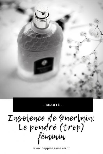 Insolence de Guerlain : Le parfum poudré très féminin
