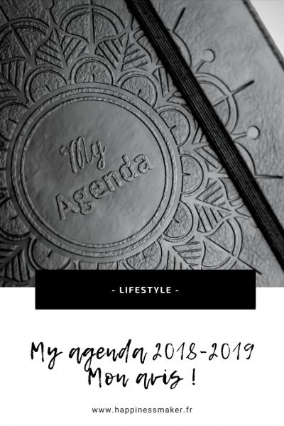 my agenda 2018-2019 développement personnel bullet journal organisation