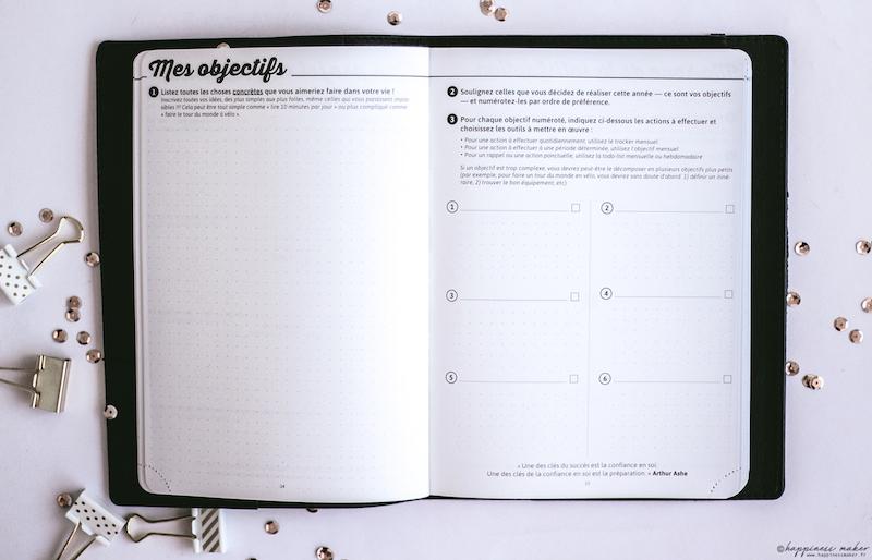 my agenda 2018-2019 planner bullet journal organisation mes objectifs